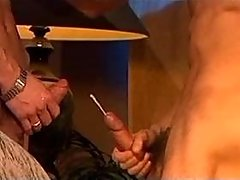 3 studs play sex in candlelight