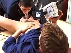 Teenage gays trying gay banging
