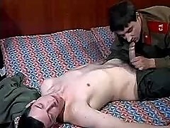 Army guy seduces and has intercourse friend