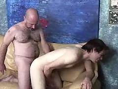Insatiable bear wants twink meat