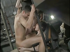 Fabulous young dudes screw each other exclusive of condoms